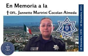 Policía  Jeanette Cocolan